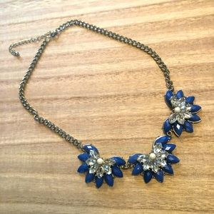 3/$20-New‼️Blue Statement Necklace